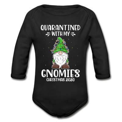Quarantined With My Gnomies Matching Long Sleeve Shirts