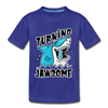 Turning 5 Is Jawsome Kids Birthday - Youth Tee - royal blue