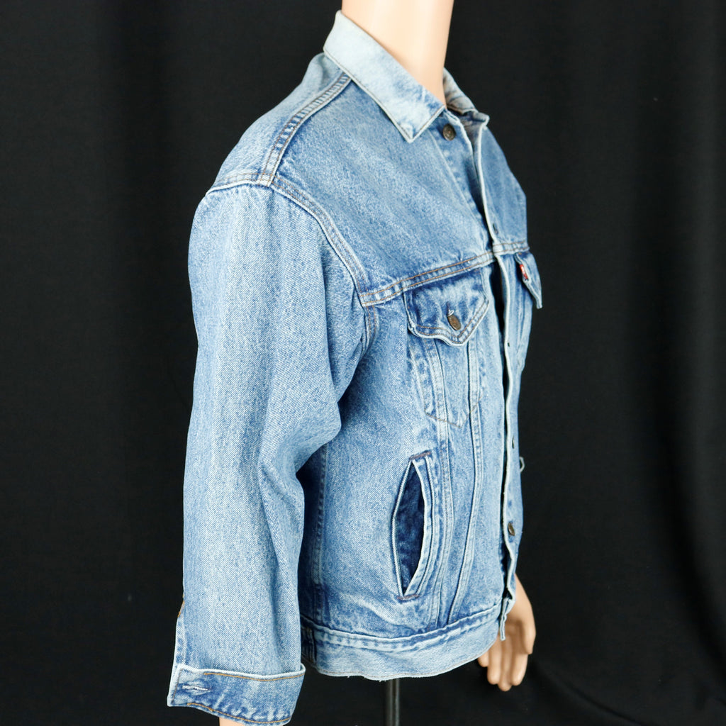 Neil Diamond Levis Denim Jacket Vintage USA Mens Small
