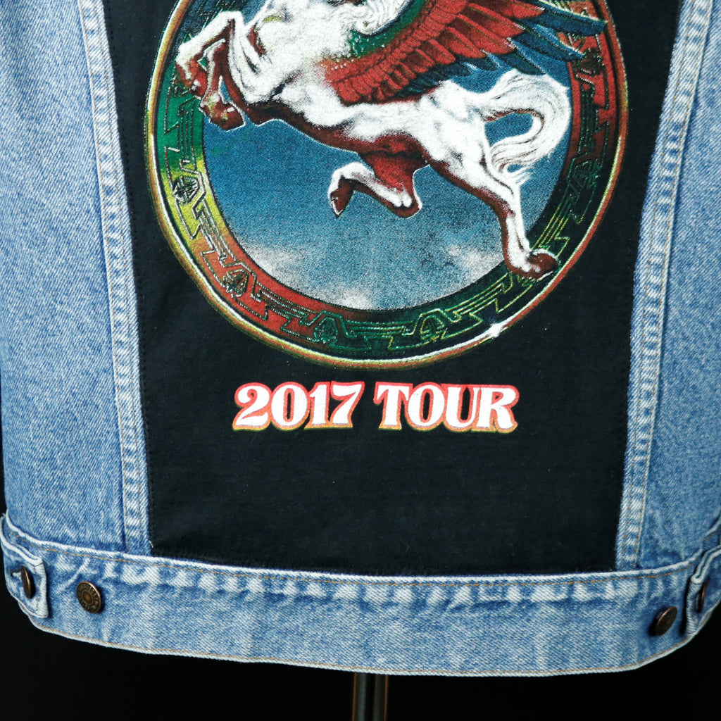 Steve Miller Band Levis Denim Jacket 2017 Tour USA 46L Mens Medium