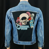 Grateful Dead Levis Denim Jacket USA 34 Mens XSmall