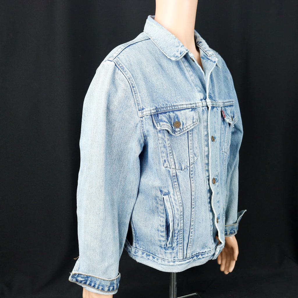 Motley Crue Levis Denim Jacket Mens Large Womens XLarge