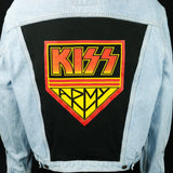 KISS Army Jacket Levis Band Mens Large Womens XLarge