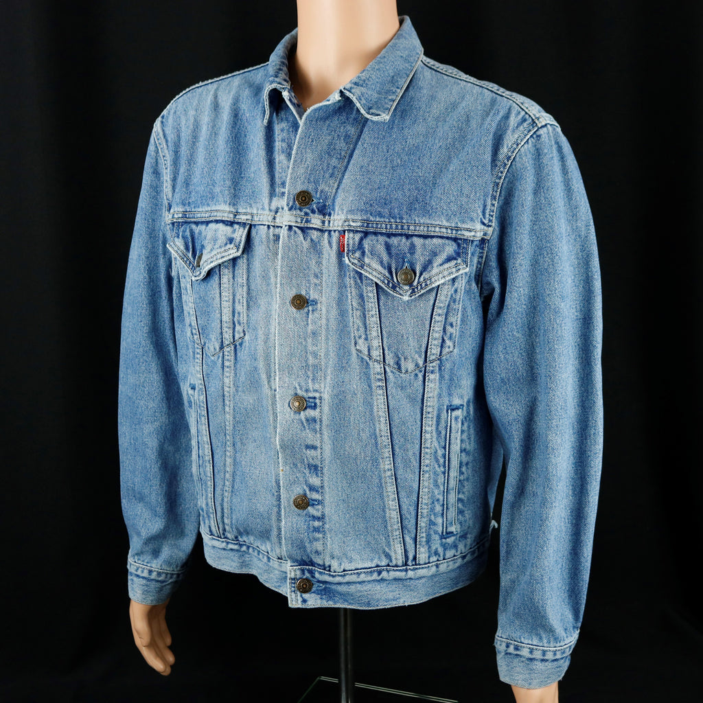 RUSH Band Levis Denim Jacket Snakes and Arrows Mens Medium