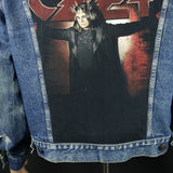Ozzy Osbourne Levis Denim Jacket Vintage USA 46R Men's Medium