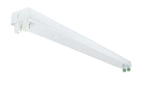 Double Strip Fixture - 4 Lamp 8' Fixture - Energy Focus