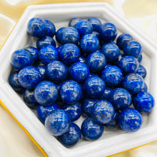 Load image into Gallery viewer, ONE High Quality Lapis Lazuli Mini Sphere