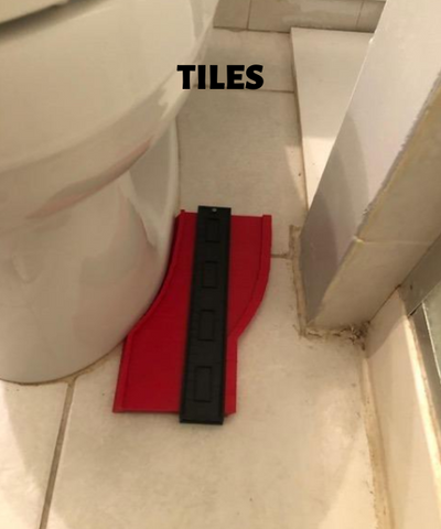 Contour Gauge helps with tiles