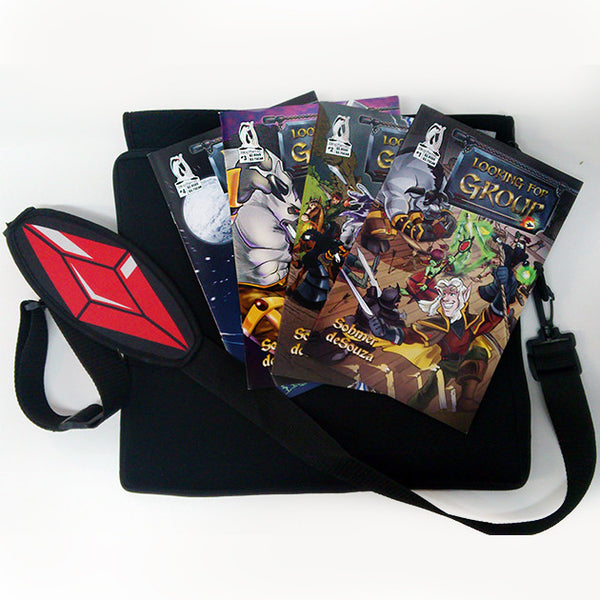 The Vault Item #004 - Richard Messenger Bag and Comics Signed!