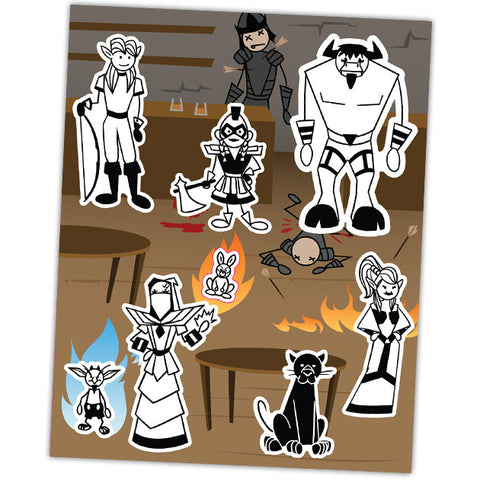 LFG - Sticker Family