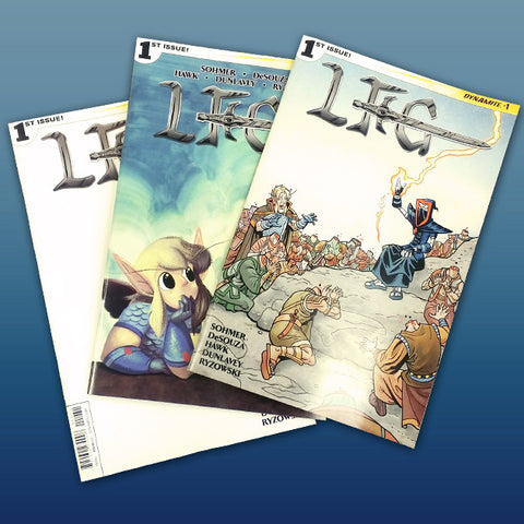 LFG - Looking For Group #1 Comic Issue Bundle