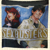 The Vault Item #007 - LICD Sexbusters Shower Curtain Prototype! Signed!