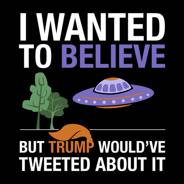 LICD - T-Shirt: I Wanted To Believe