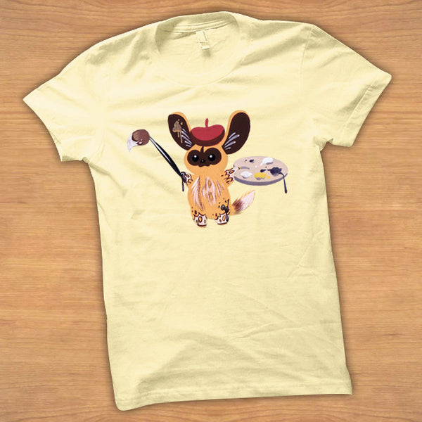 Bear - Toddler Tee: Painted Dog