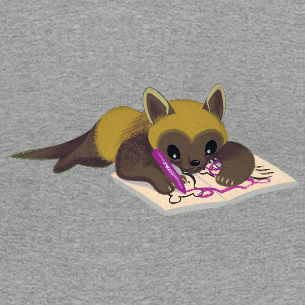Bear - Toddler Tee: Wolverine