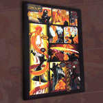 The Vault Item #001 - Signed Richard Magma Canvas Print