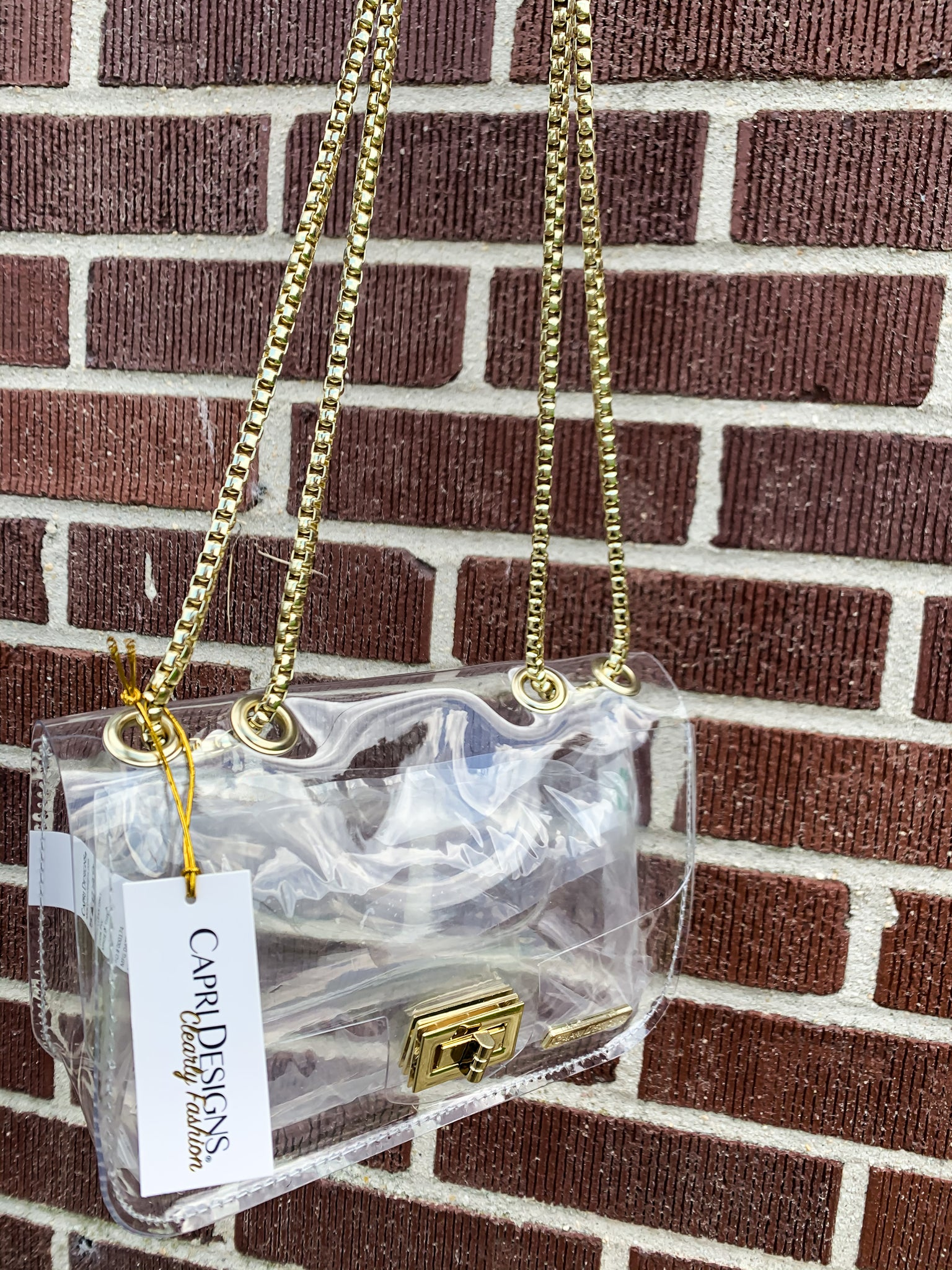 Convertible Classic Clear Purse