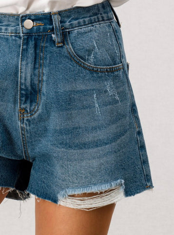 Not your BF's Denim Short