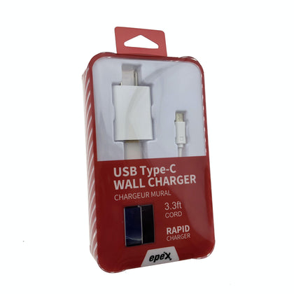 USB Type-C Cable Wall Charger