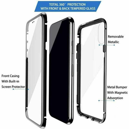Transparent Magnetic Case For iPhone