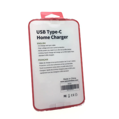 Home Charger and Type-C Cable (cUL Certified)