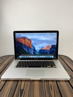 MacBook Pro (15-inch, Mid 2012 ) - intel Core i7@2.6 GHz - 16GB Ram - 750GB HDD