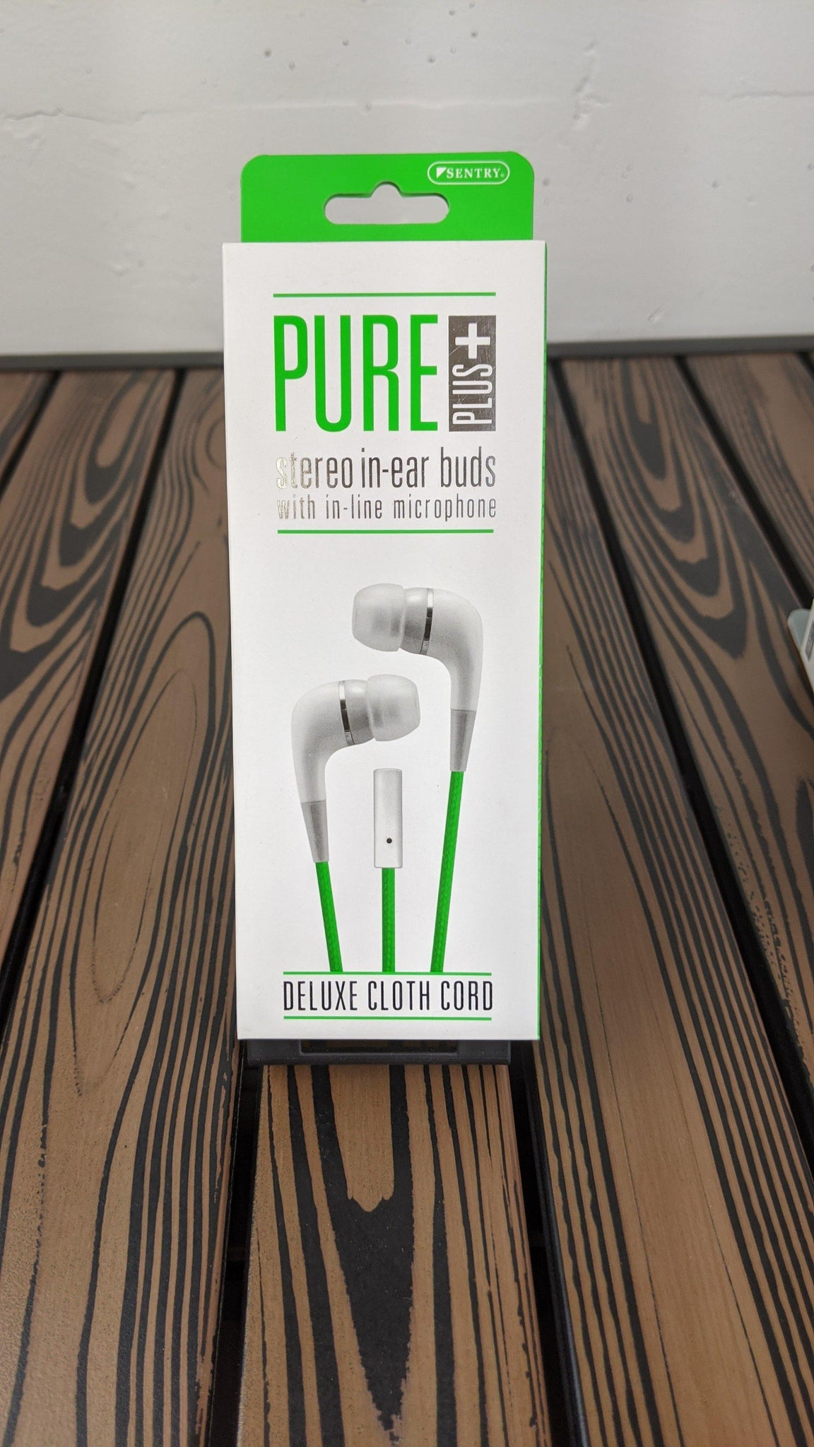 Pure plus earbuds