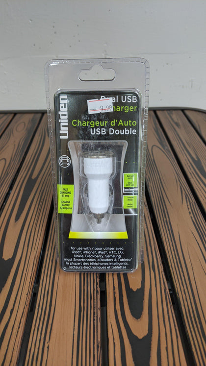 Undien Dual USB Car Charger