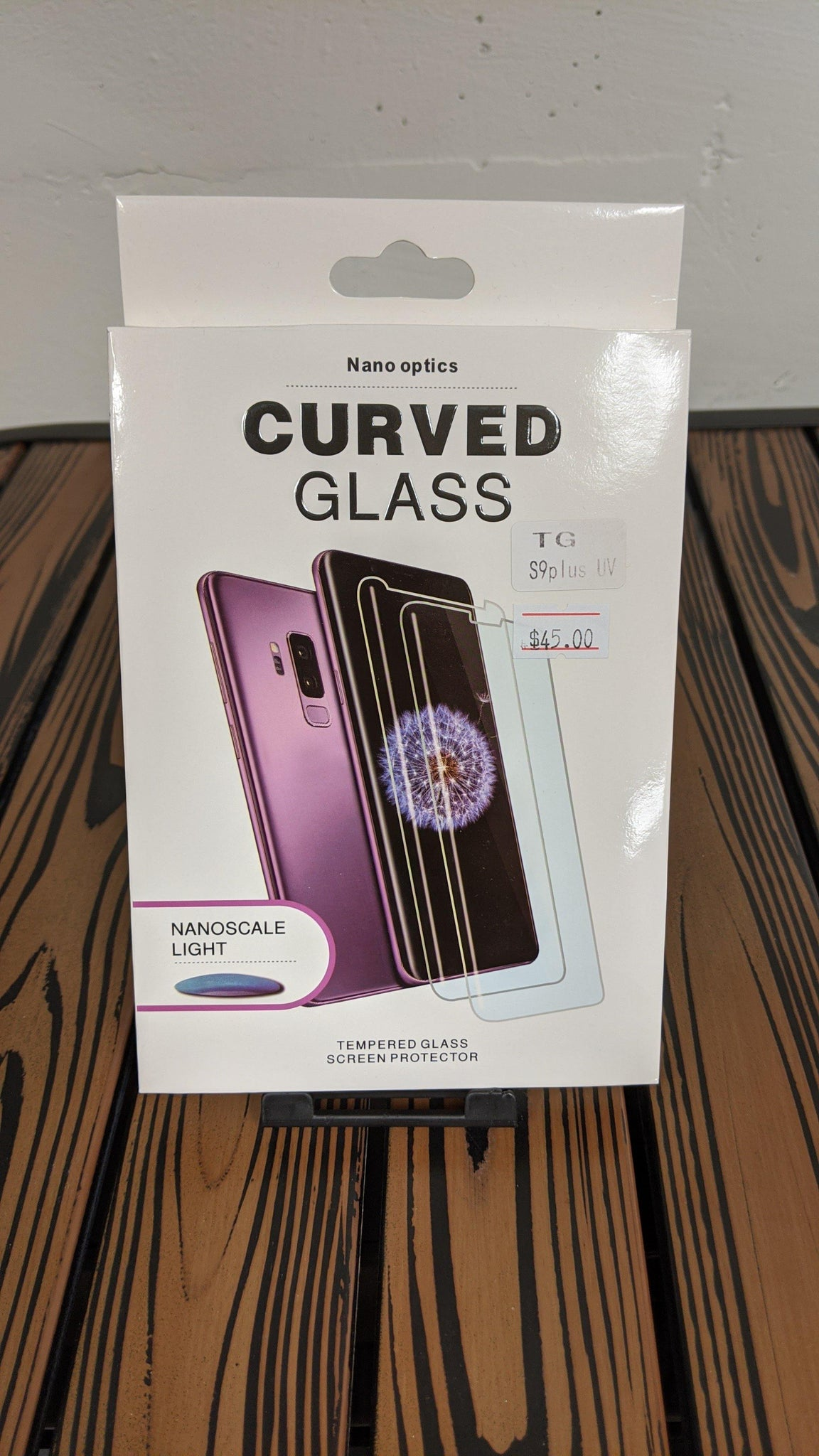 Nano Optics Curved Glass