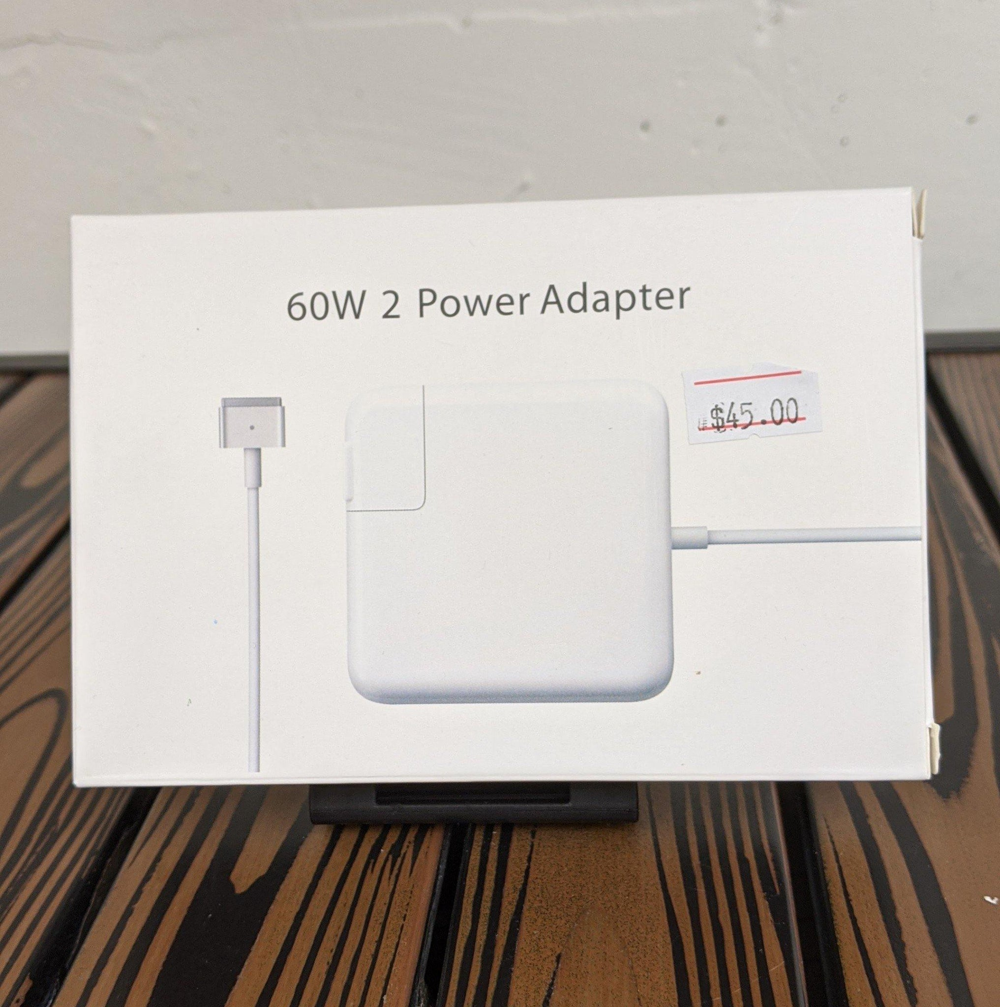 MagSafe 2 Power Charger Adapter for Apple MacBook - 60W