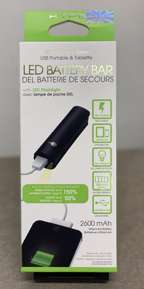 LED Battery Bar