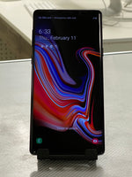 Samsung Galaxy Note9 SM-N960 - 128GB - Midnight Black (Unlocked) (Single SIM)