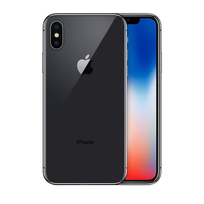 Apple iPhone X - 256GB - Space Grey  (Unlocked) A1901 (GSM) (CA)