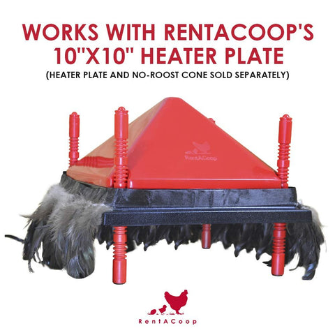 Comfort Feathers for RentACoop Heating Plate