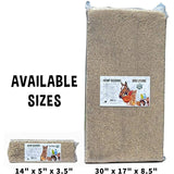 Mini Hemp Bedding (12 L) - Pack of 6 Mini Blocks