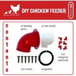 DIY Poultry Feeder Kit