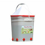 5 Gallon/4 Horizontal Nipples Chicken Waterer
