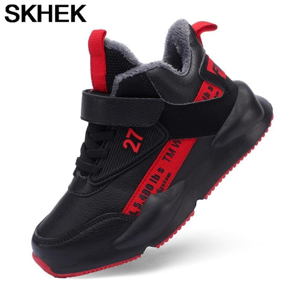 Children's Sports Shoes 12 Years Old Plush Sneakers For Boys