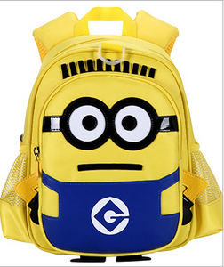 The new 2020 minion toddler cute one-eyed cartoon backpacks support one hair - goldylify.com