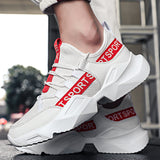 Breathable mesh shoes sneakers