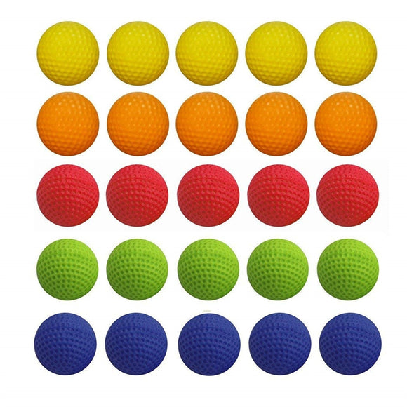 25pcs Bulk Foam Bullet Ball Replacement Refill Pack - goldylify.com