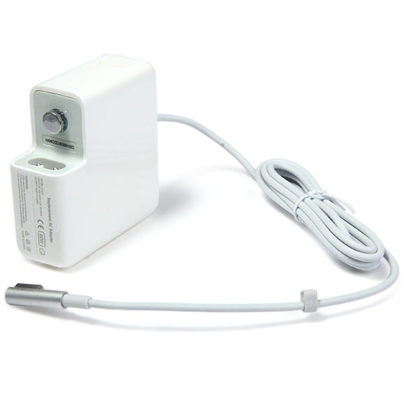 Universal 4 in 1 US UK AU EU Plug 60W L Shape 5Pin Prolate Head Replacement AC Adapter for Apple MacBook Pro A1234 etc. ( 16.5V 3.65A / 100 - 240V ) - goldylify.com