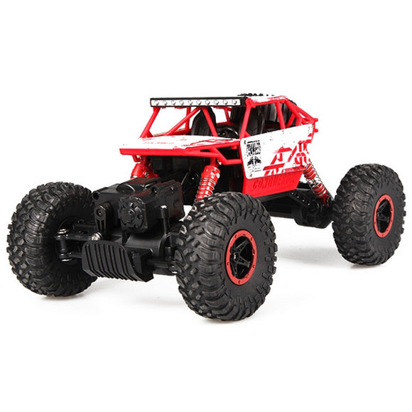 HB - P1801 1:18 Scale RC Climbing Car 2.4G 4.8V 700mAh Double Motors Four-wheel Drive EU Plug - goldylify.com