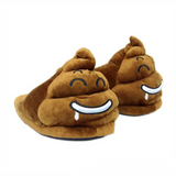 Warm Poop Emoji Slippers - goldylify.com