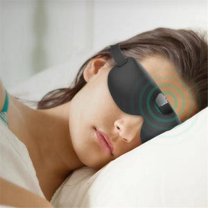 Smart Snoring Eye Mask Bluetooth Wireless Sleeping Eye Shades Beep Recording Playback And Analysis Snor Mask For Home Car Travel - goldylify.com