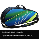 Tennis Backpack Tennis Racket Cover Bag Badminton with Shoes Compartment Thicken Waterproof Raquete Tenis Shoulder Bag Men - goldylify.com