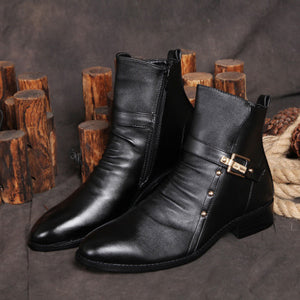 Lining Ankle Leather Boots Retro Shoes For Men - goldylify.com