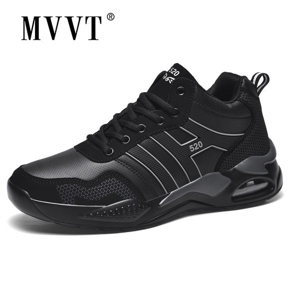 Winter Warm Men Running Shoes With Fur Men Sneakers Air Sole Sport Shoes Waterproof Snow Footwear|Running Shoes