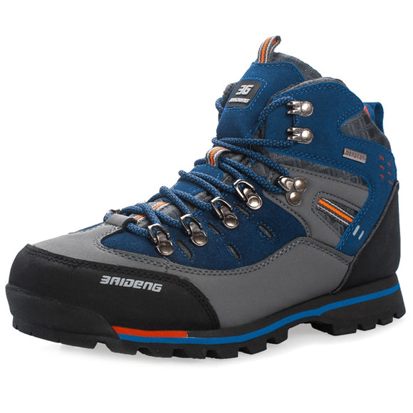 Men Water Resistant Trekking Shoes for Outdoor Hiking - goldylify.com