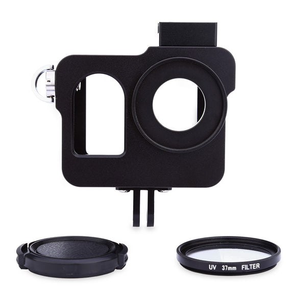 Aluminum Alloy Protective Frame Housing Case with Filter Lens for SJ400 - goldylify.com